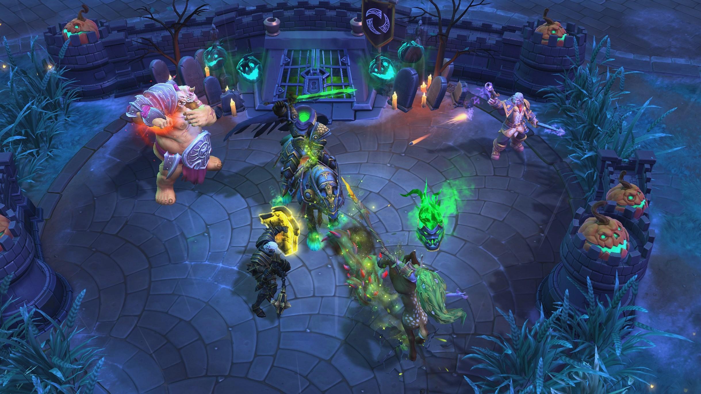 Screenshot de Heroes of the Storm.