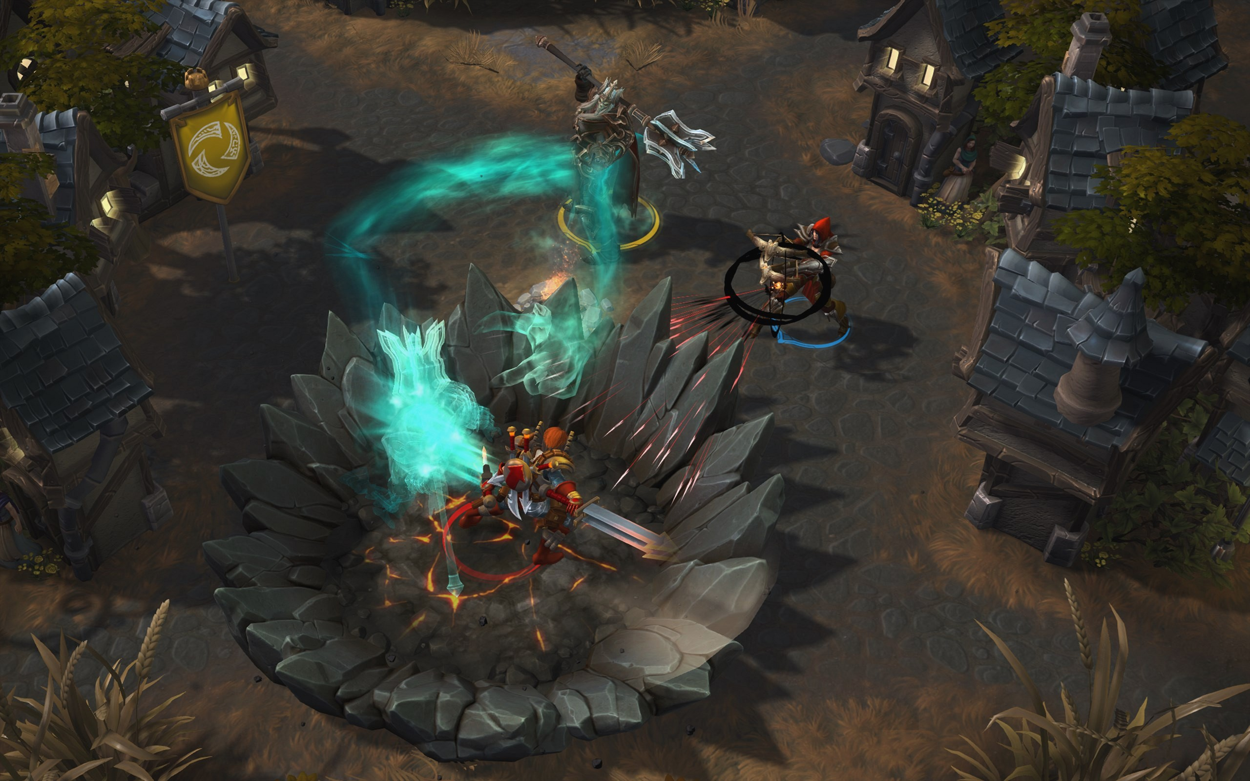 Screenshot de Heroes of the Storm.