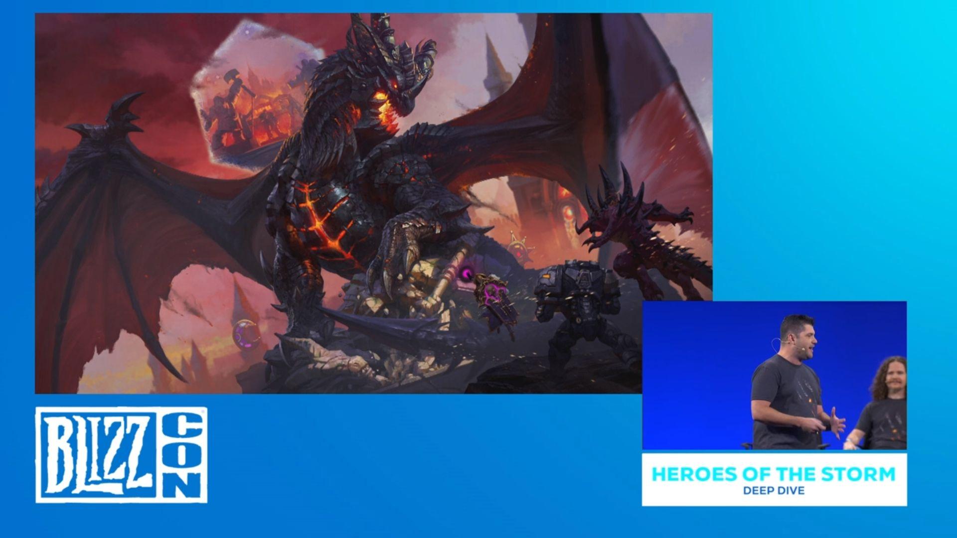 Conférence Heroes de la BlizzCon 2019