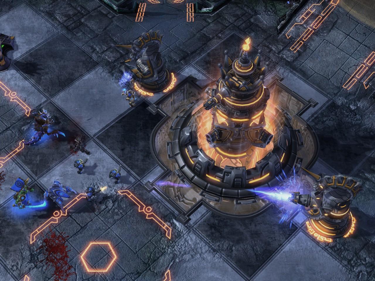 Screenshot de Blizzard DOTA à la BlizzCon 2010.