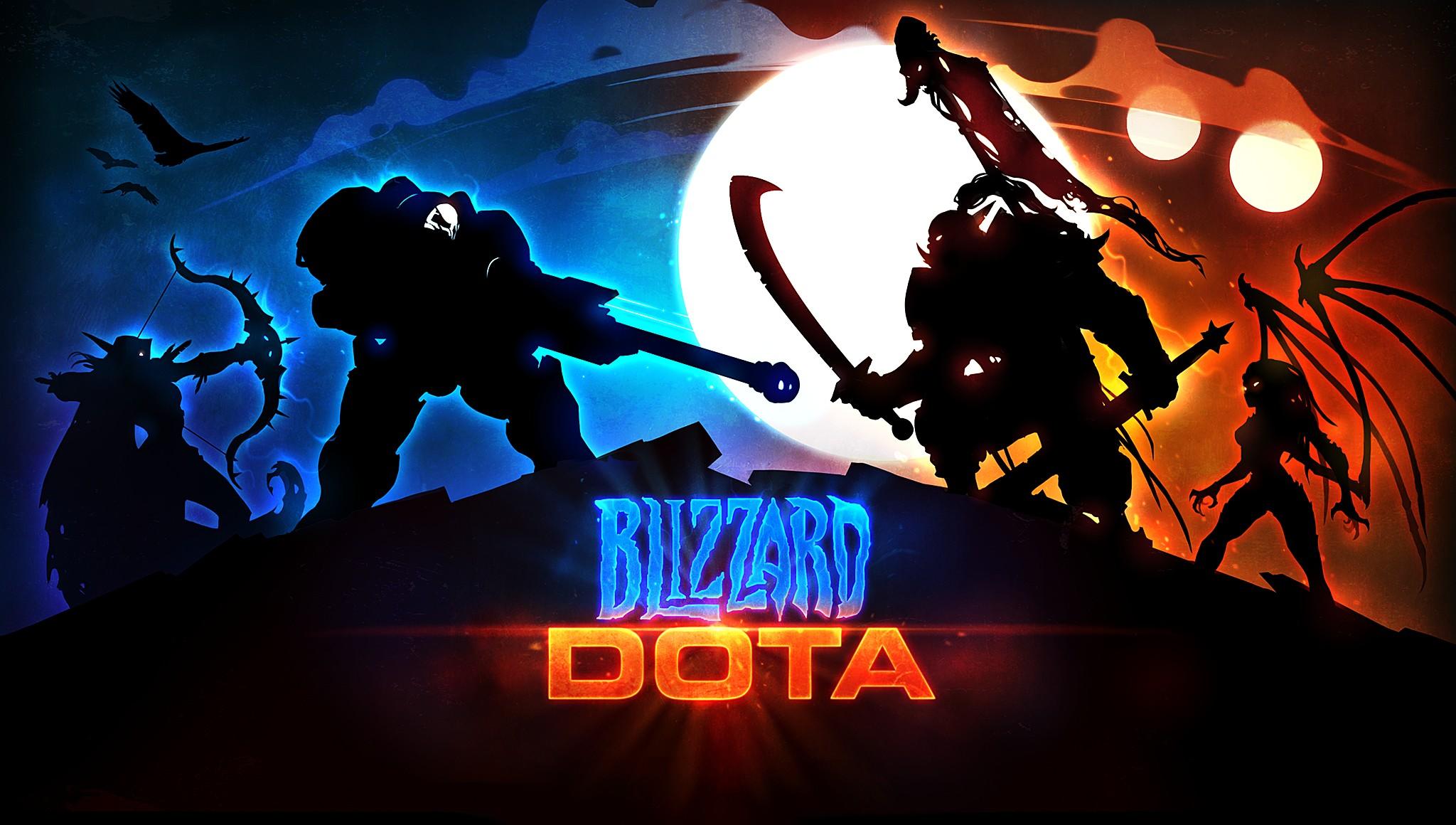 Screenshot de Blizzard DOTA à la BlizzCon 2011.