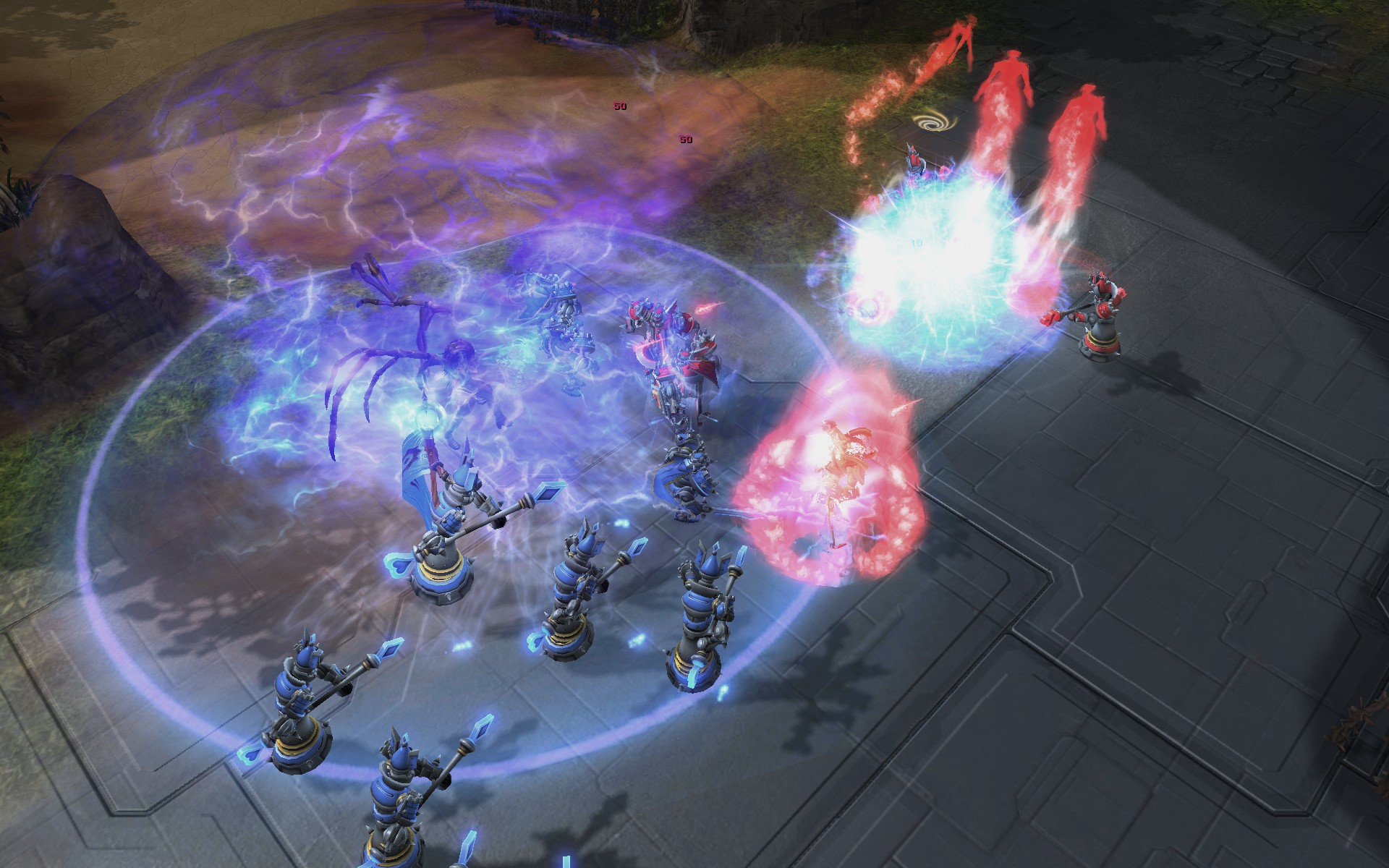 Screenshot de Blizzard DOTA à la BlizzCon 2011.
