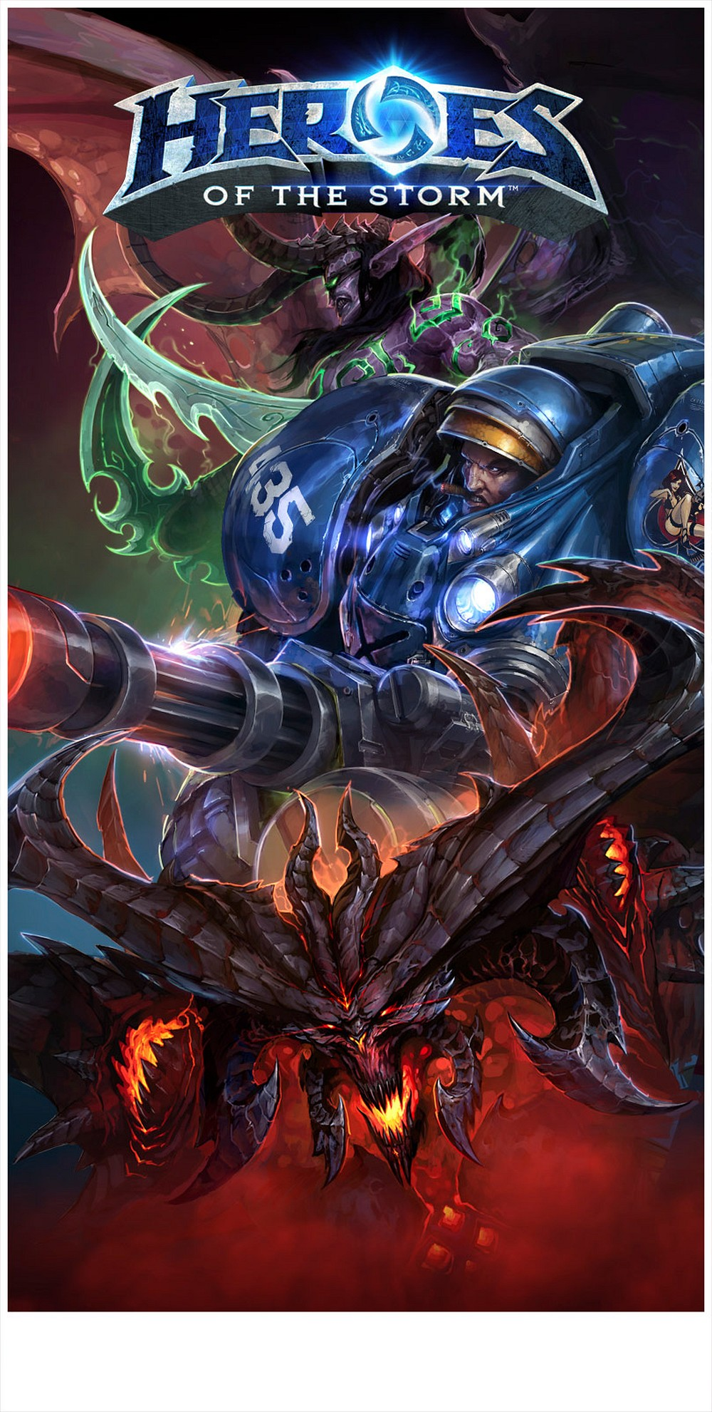 Artwork de Heroes of the Storm de la BlizzCon 2013