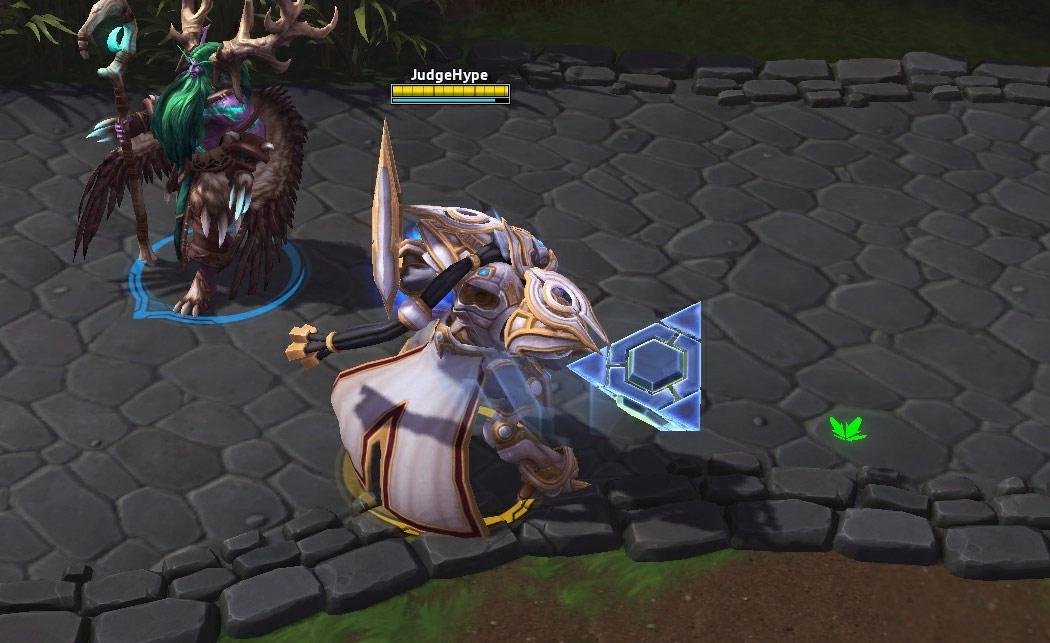 Screenshot d'Artanis dans Heroes of the Storm.