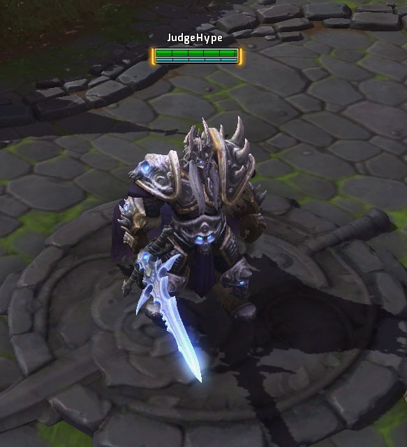 Arthas dans Heroes of the Storm.