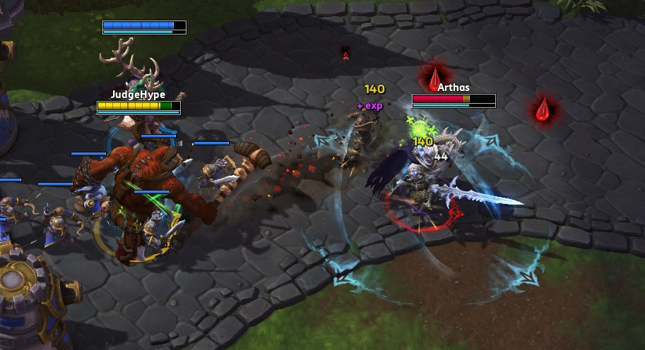 Le Boucher dans Heroes of the Storm.