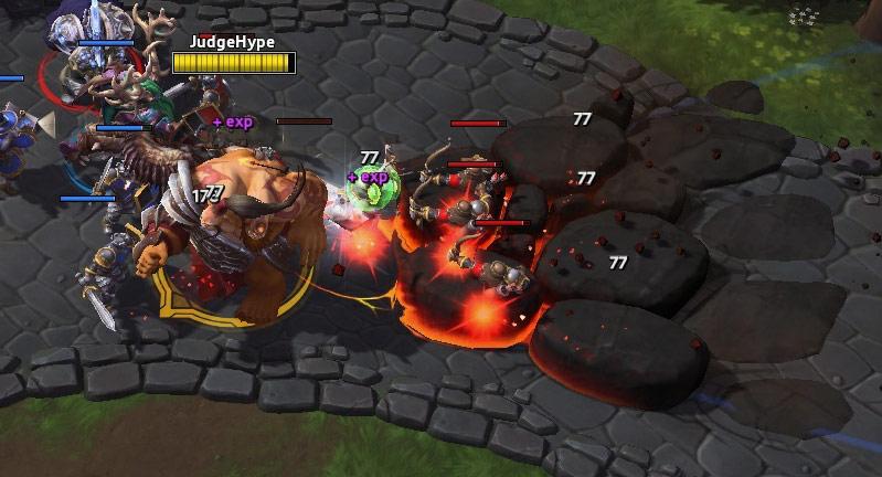 Screenshot de Cho'gall dans Heroes of the Storm.