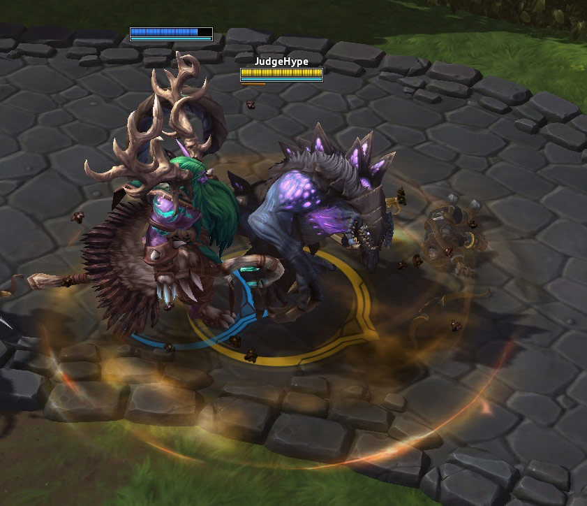 Screenshot de Dehaka dans Heroes of the Storm.