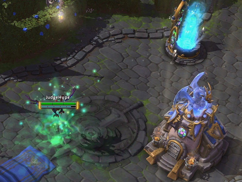 Luisaile dans Heroes of the Storm.