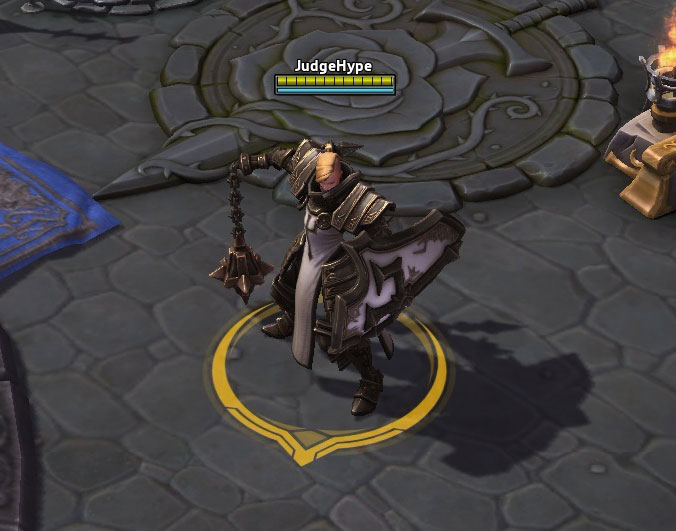 Screenshot de Johanna dans Heroes of the Storm.