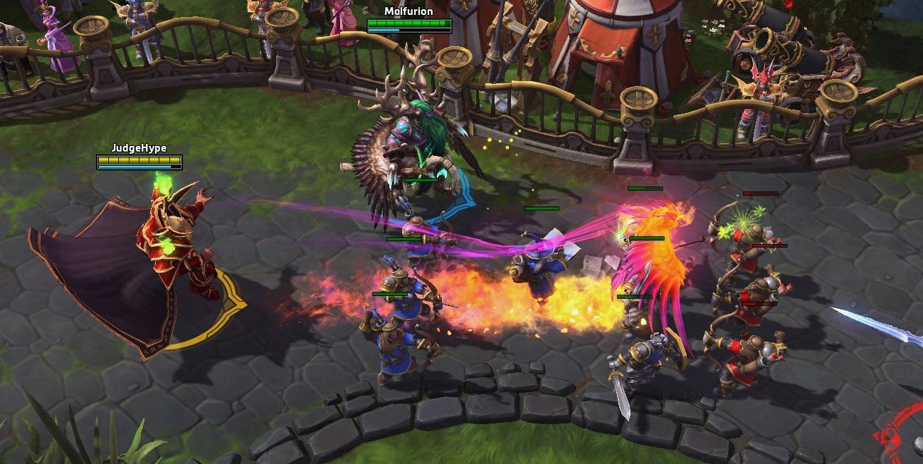 Screenshot de Kael'thas dans Heroes of the Storm.