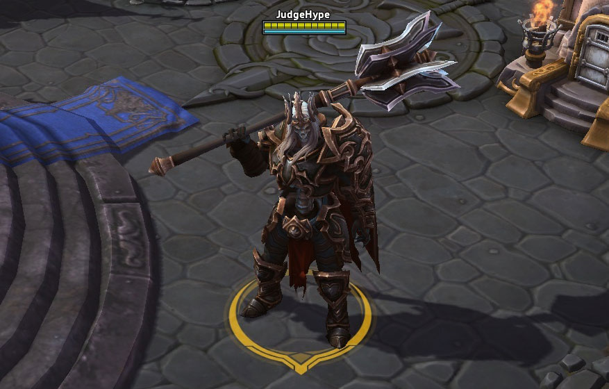 Screenshot de Léoric dans Heroes of the Storm.