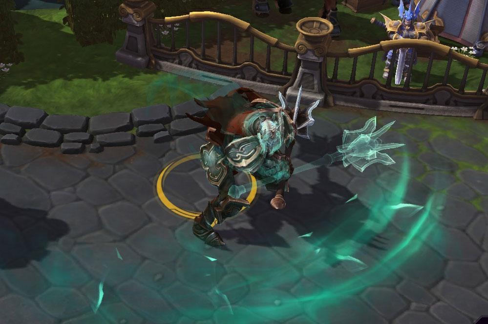 Screenshot de Léoric dans Heroes of the Storm.