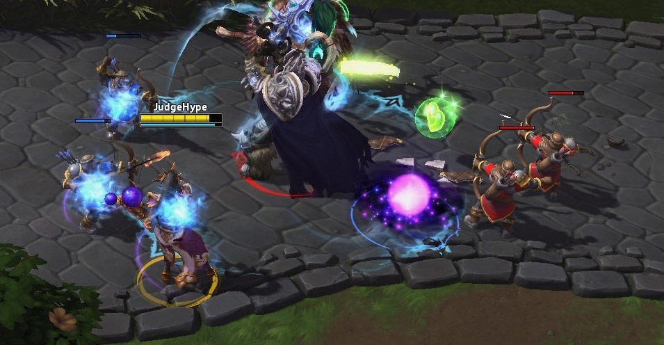 Screenshot de Li Ming dans Heroes of the Storm.