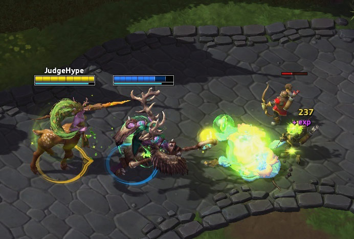 Screenshot de Lunara dans Heroes of the Storm.