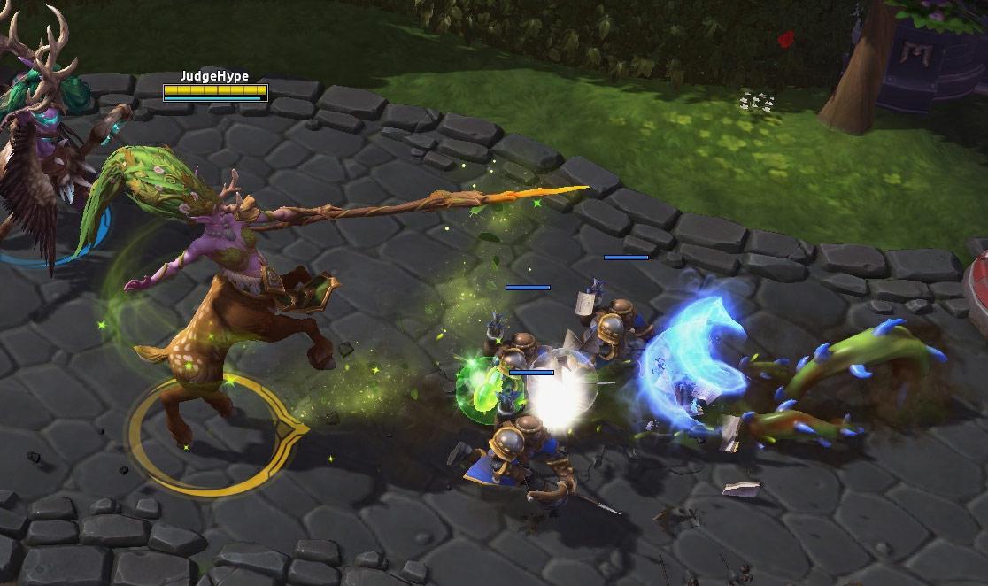 Screenshot de Lunara dans Heroes of the Storm.