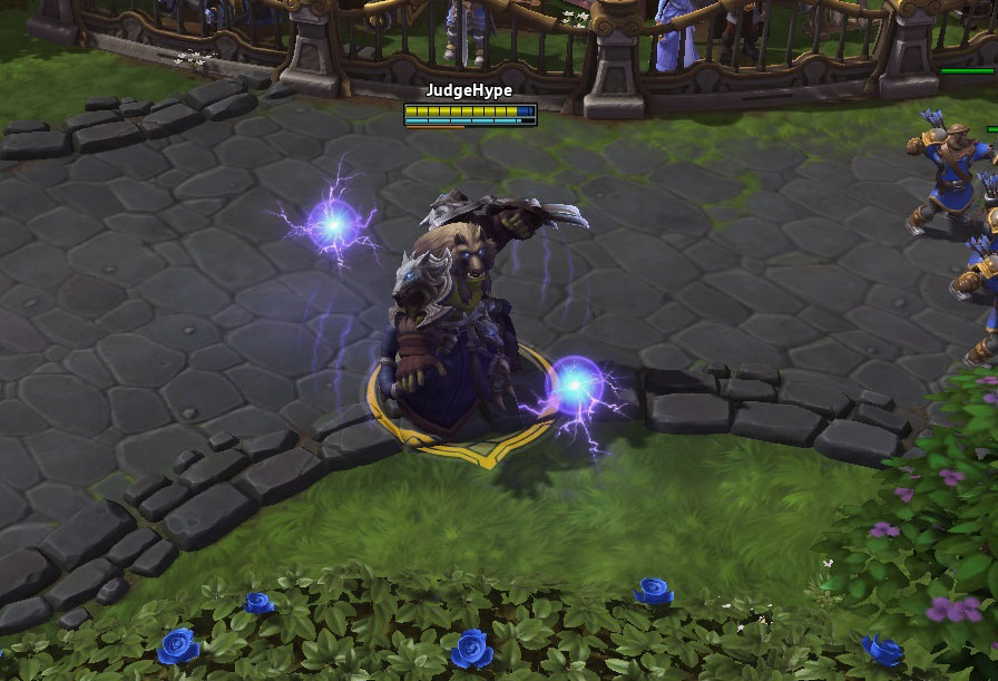 Reghar dans Heroes of the Storm.