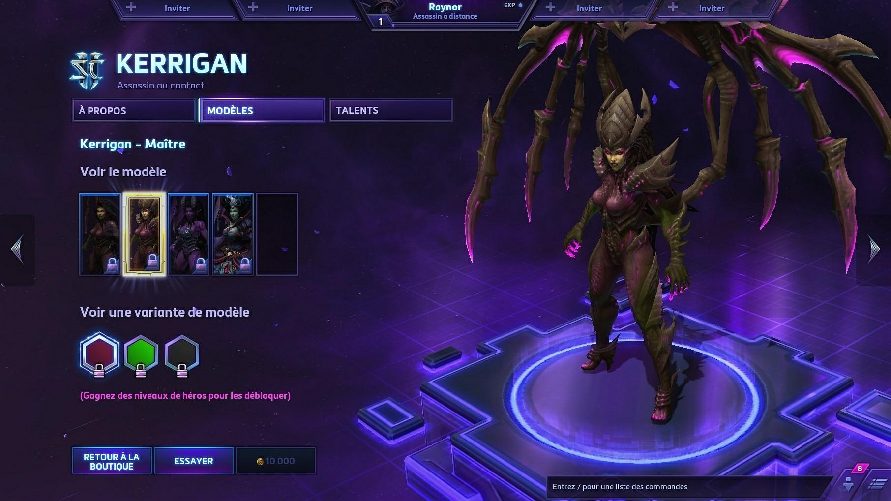 Skin de Kerrigan.