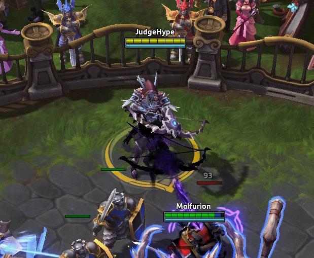 Screenshot de Sylvanas dans Heroes of the Storm.