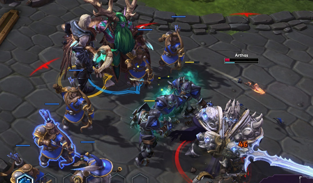 Screenshot de Xul dans Heroes of the Storm.