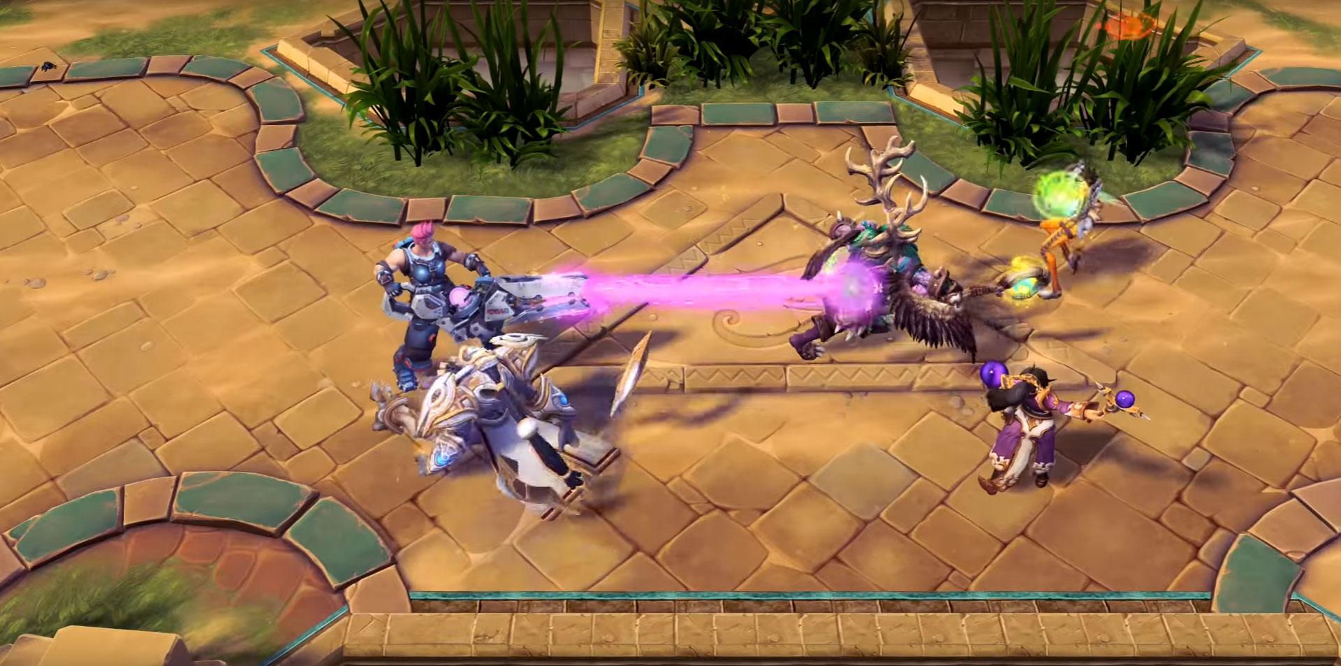 Zarya dans Heroes of the Storm.