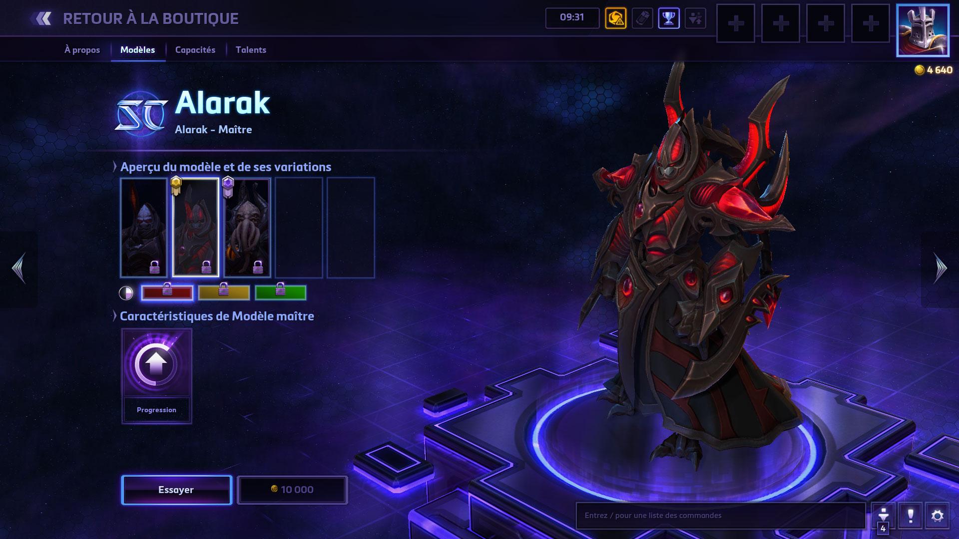 Skin d'Alarak.