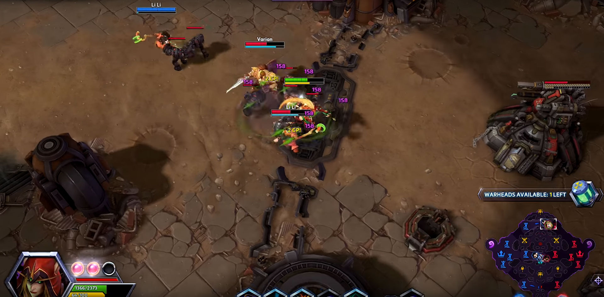 Valeera dans Heroes of the Storm.