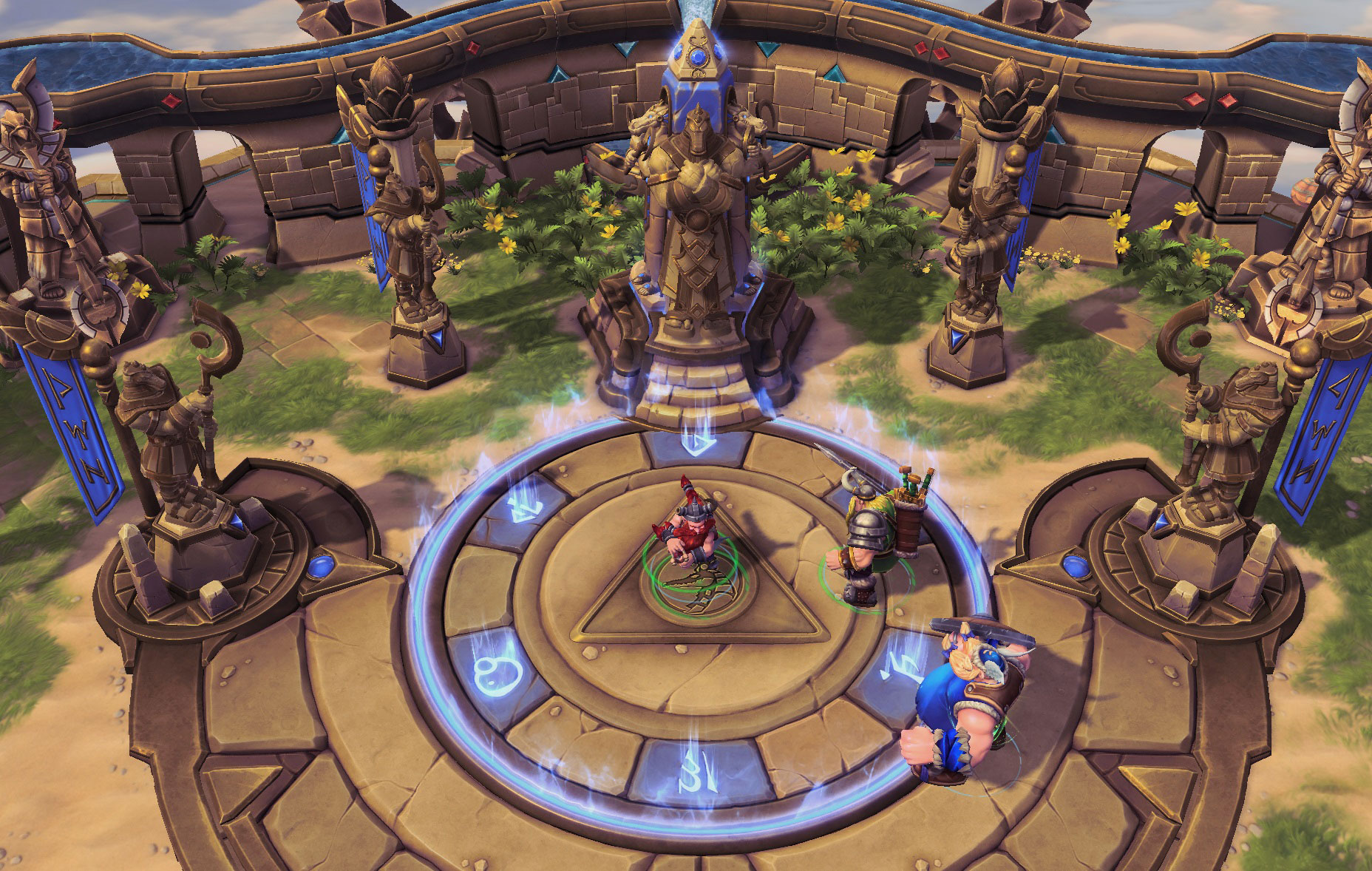 Les Vikings Perdus dans Heroes of the Storm.