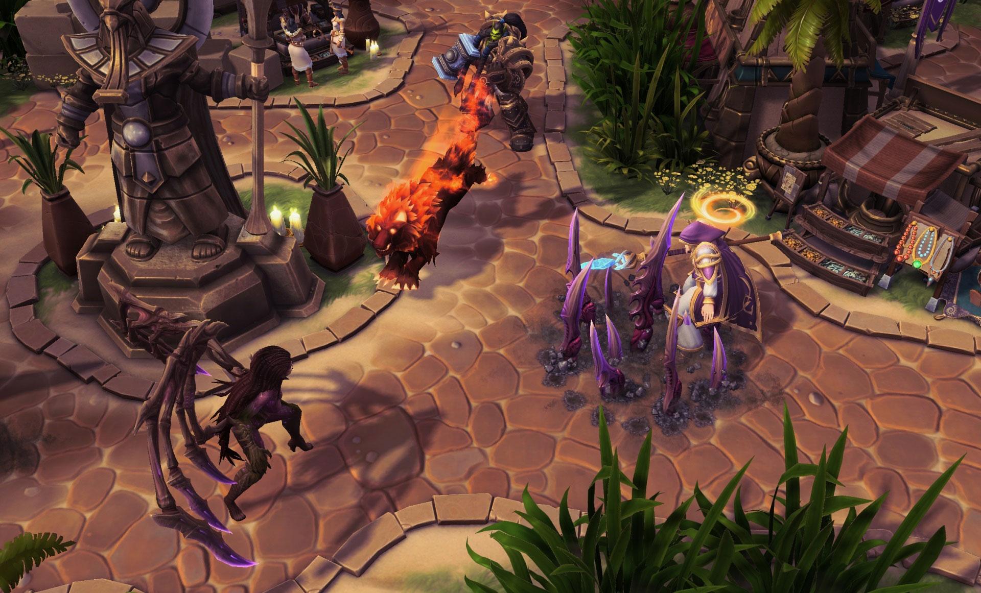 Screenshot de Thrall dans Heroes of the Storm.