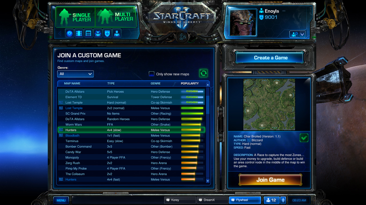 Dossier Heroes of the Storm.