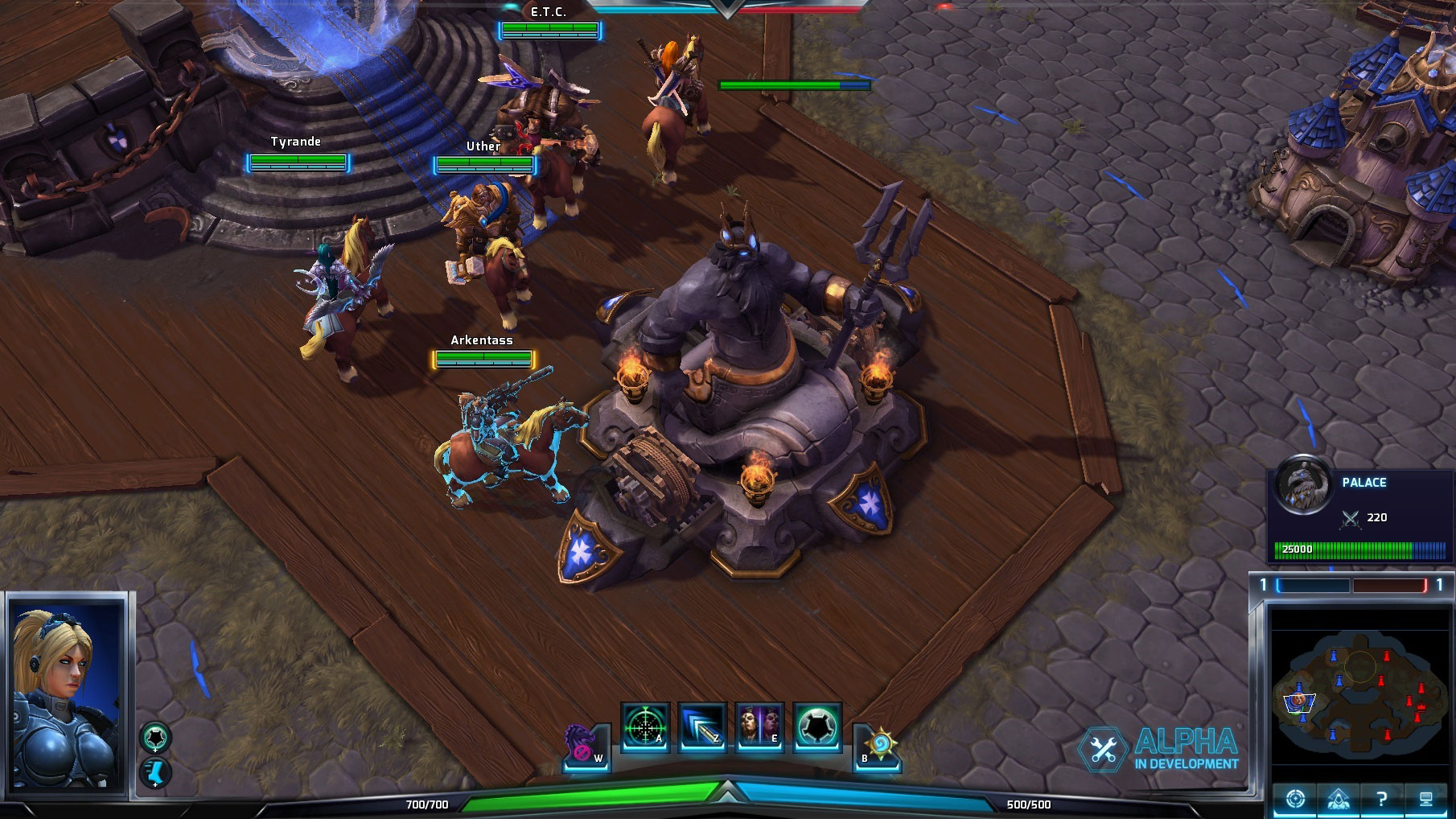 Le palace dans Heroes of the Storm.