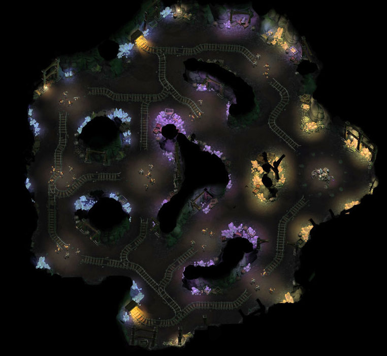 Mines Hantées (nuit) - 1ère édition