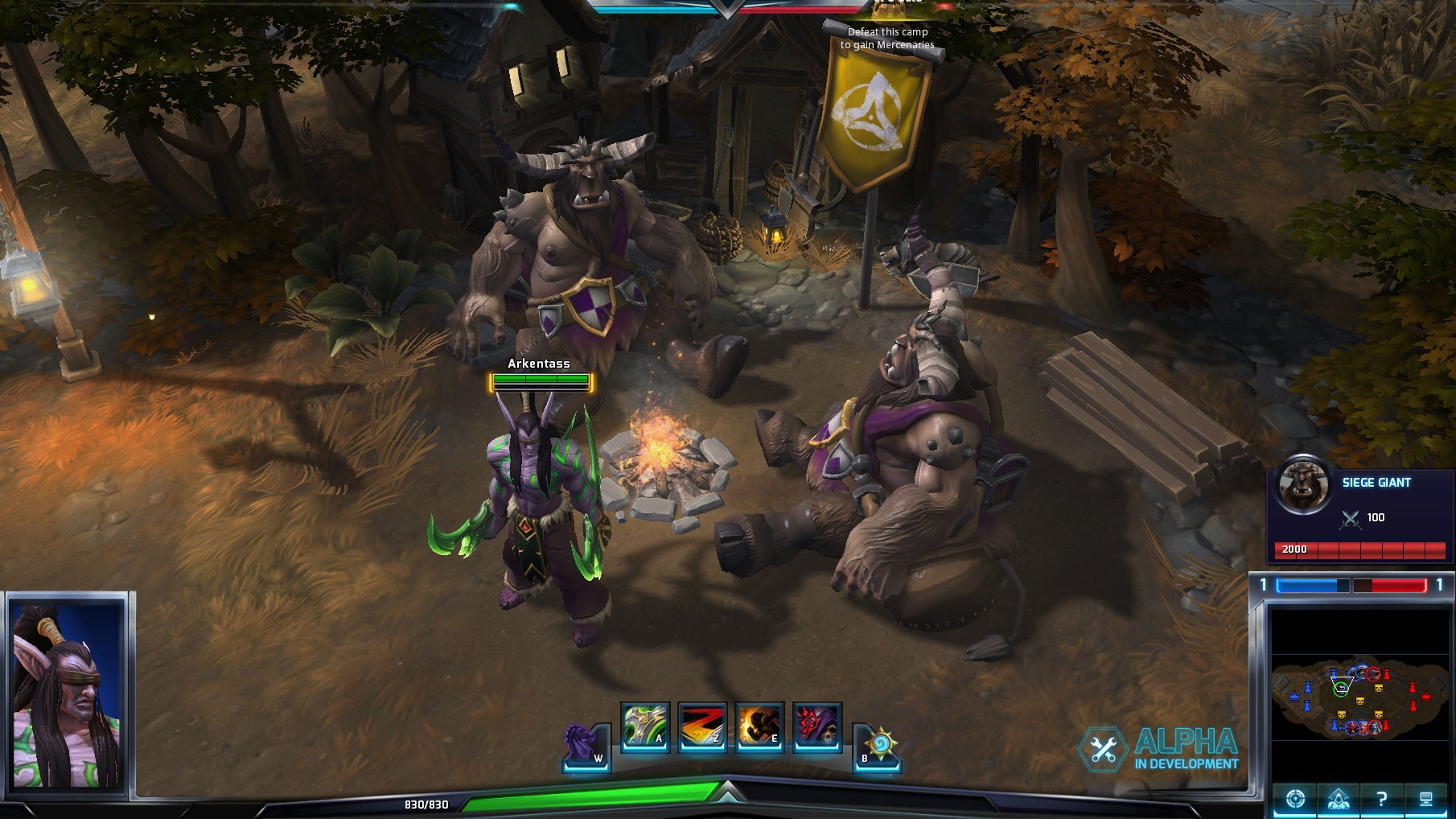 Mercenaire de Heroes of the Storm.