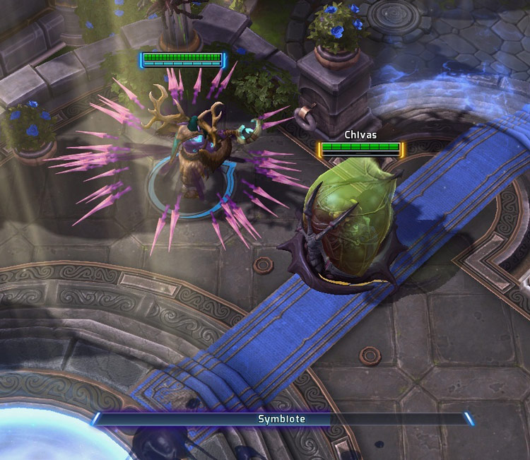 Screenshot d'Abathur dans Heroes of the Storm.