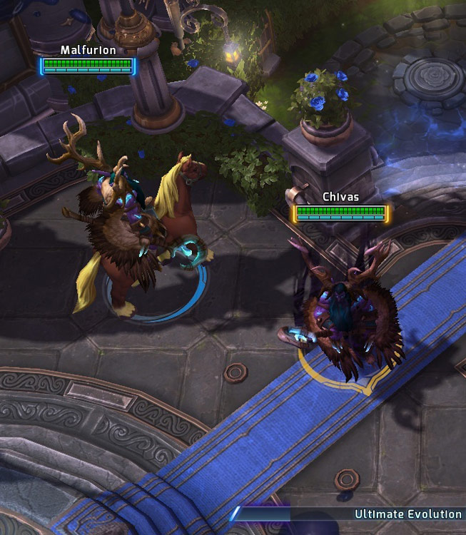 Screenshot d'Abathur dans Heroes of the Storm.
