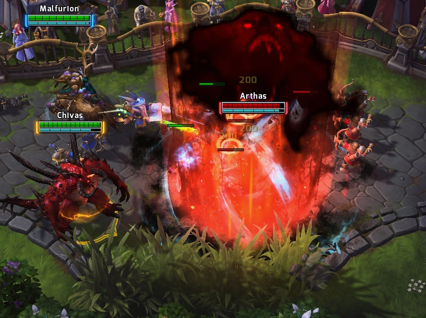 Screenshot de Diablo dans Heroes of the Storm.