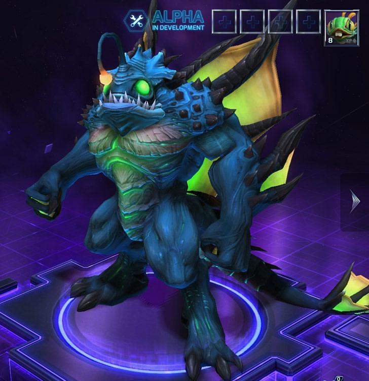 Screenshot de Diablo dans Heroes of the Storm.