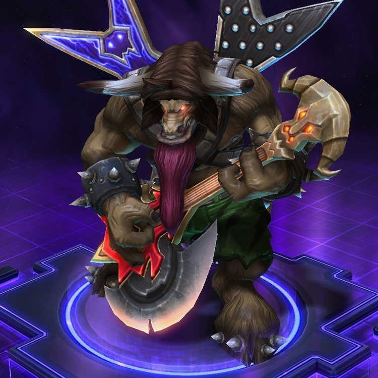Screenshot de E.T.C dans Heroes of the Storm.