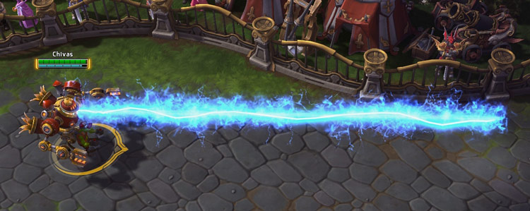 Screenshot de Gazleu dans Heroes of the Storm.