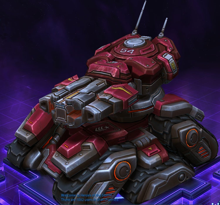 Screenshot de Sergent Hammer dans Heroes of the Storm.