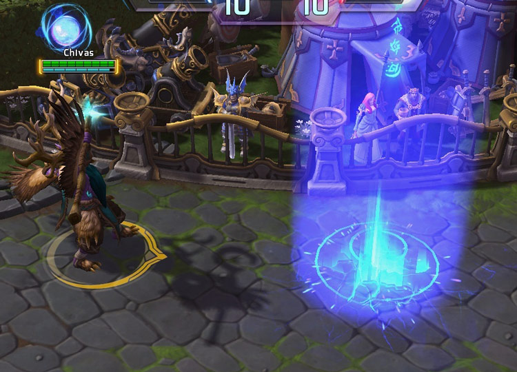 Screenshot de Malfurion dans Heroes of the Storm.