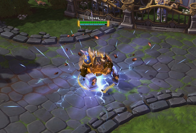 Screenshot de Muradin dans Heroes of the Storm.