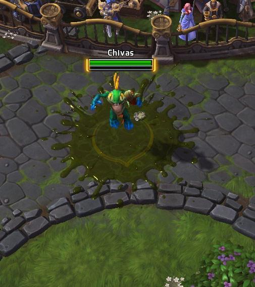 Screenshot de Murky dans Heroes of the Storm.