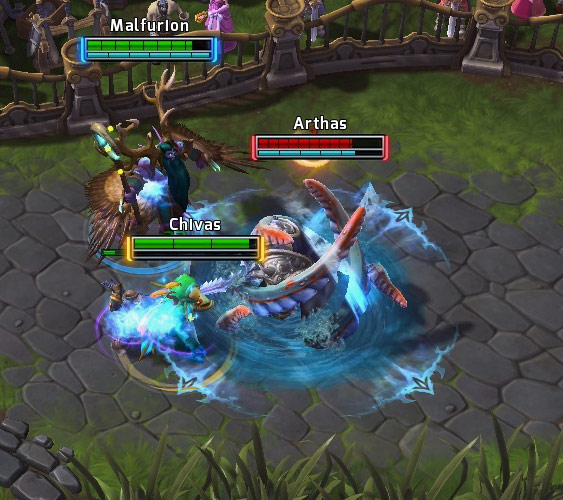 Screenshot de Murky dans Heroes of the Storm.