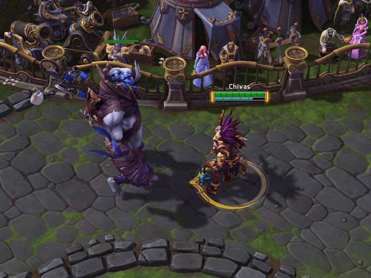 Screenshot de Naziba dans Heroes of the Storm.