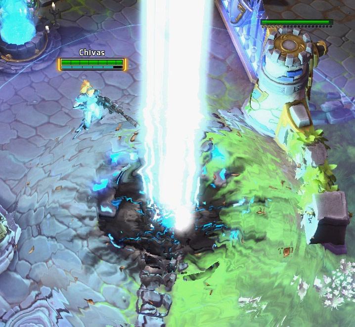 Screenshot de Nova dans Heroes of the Storm.