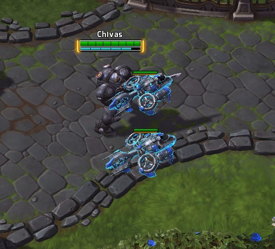 Screenshot de Raynor dans Heroes of the Storm.