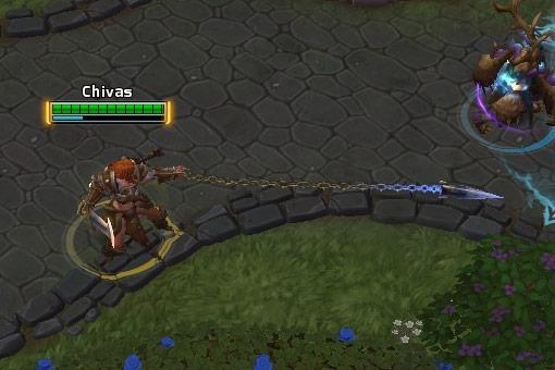 Screenshot de Sonya dans Heroes of the Storm.