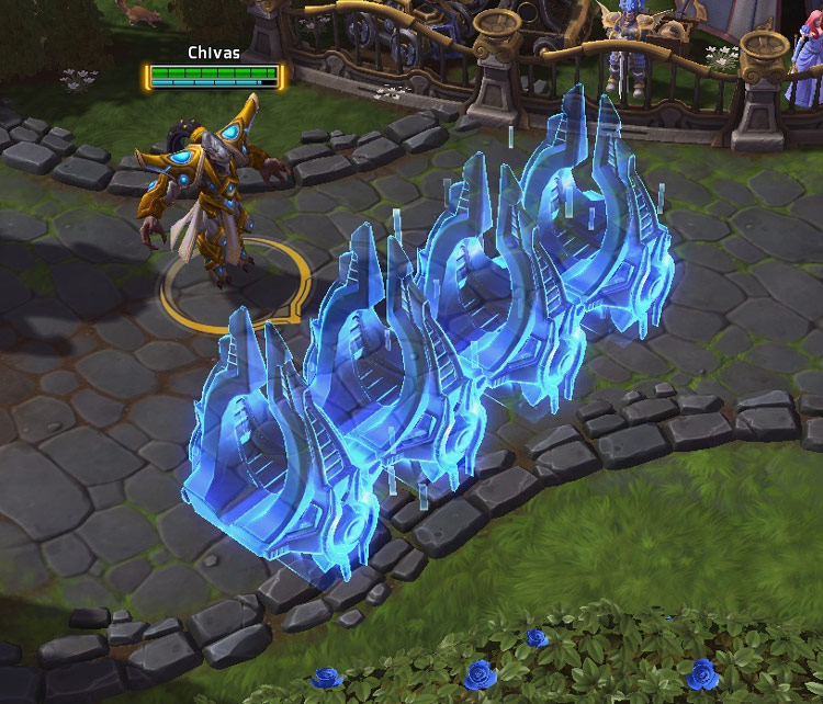 Screenshot de Tassadar dans Heroes of the Storm.