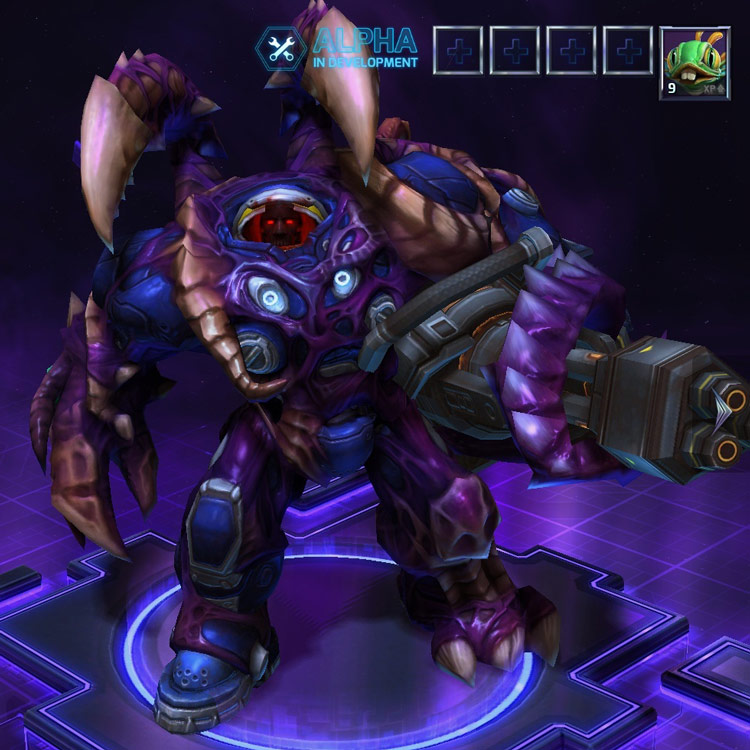 Screenshot de Tychus dans Heroes of the Storm.